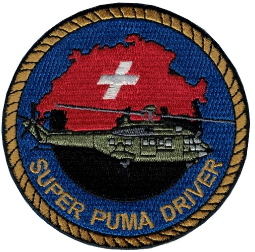 Picture of Super Puma Driver Patch  AUSVERKAUFT