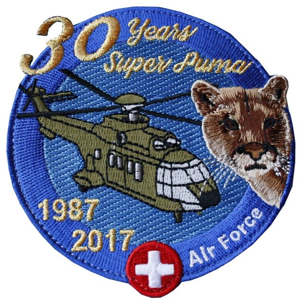 Picture of Swiss Air Force Helicopter Patches