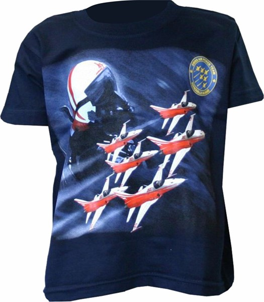 Picture of Patrouille Suisse Kinder T-Shirt Head Frontseite
