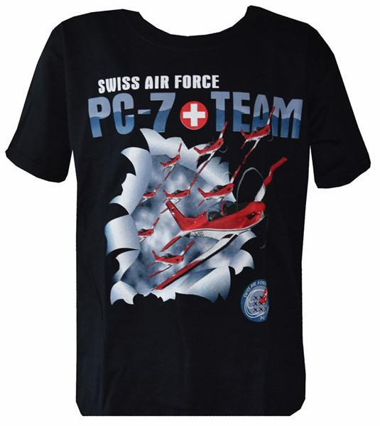 Picture of T-Shirt PC7-Team Swiss Air Force