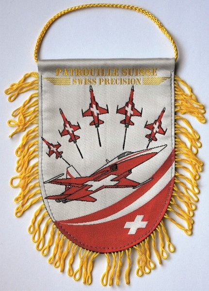 Photo de Patrouille Suisse fanion