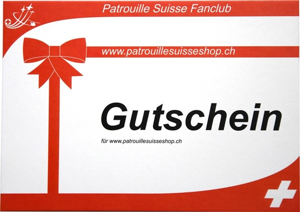 Photo de Gutschein für patrouillesuisseshop.ch
