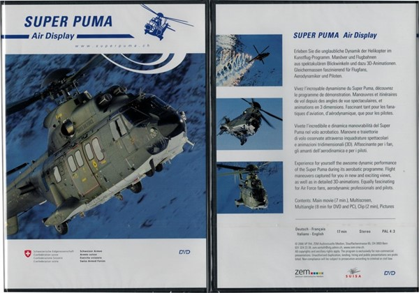 Picture of DVD Super Puma Air Display 2006 ( 2 Cd`s)
