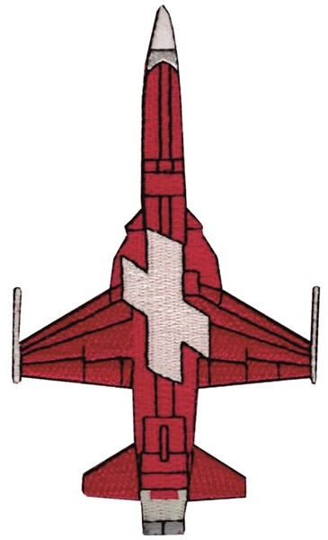 Picture of Patrouille Suisse Tiger Bottom Aufnäher