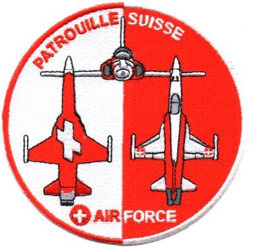 Photo de Badge Patrouille Suisse Forces aériennes Suisse 2018