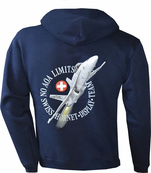 Picture of F/A 18 Hornet NO AOA Solo Display Kaputzenjacke mit Zip