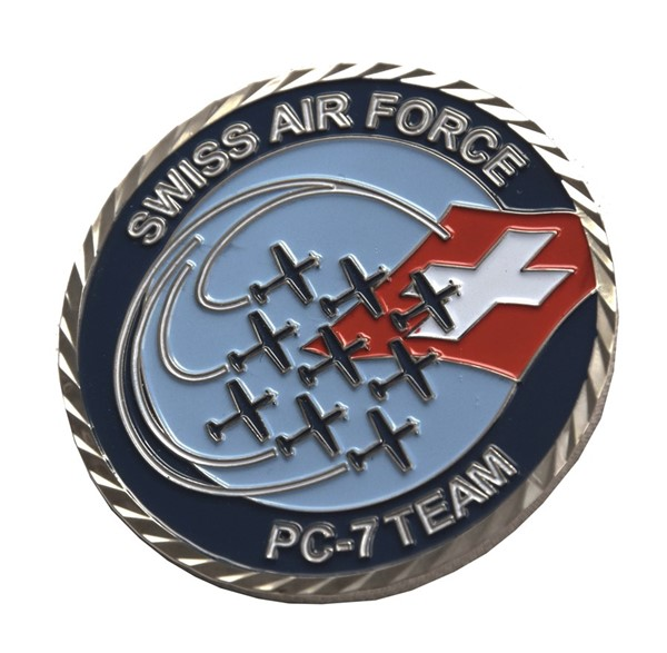 Picture of Swiss Air Force PC-7 Team Coins