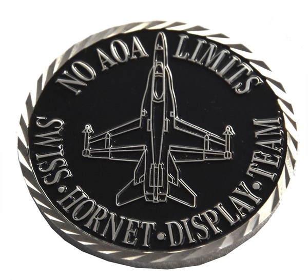 Photo de F/A-18 Hornet solo Display Coins, 50mm, en metal
