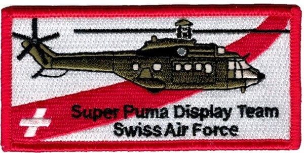 Picture of Super Puma Display Team Abzeichen rot