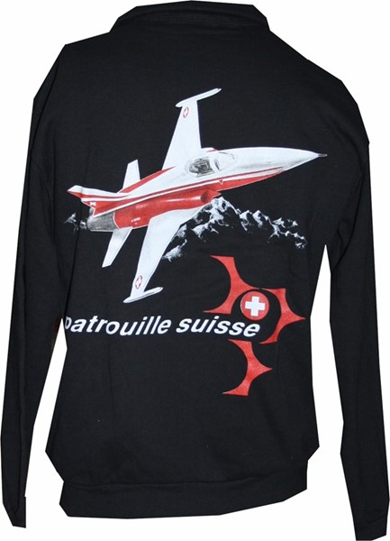 Picture of Patrouille Suisse Pullover, schwarz