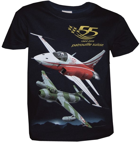 Photo de T-Shirts enfant F18 Hornet Forces aériennes suisses
