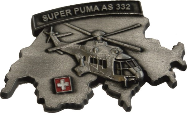 Picture of Super Puma Magnet, Metall 50mm