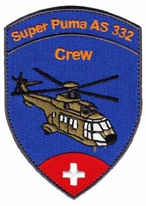 Photo de Super Puma Crew Badge  93mm