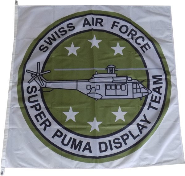 Picture of Super Puma Display Team Flagge